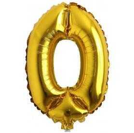 0 rakam balon