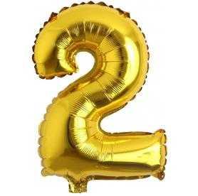 2 rakam balon altın