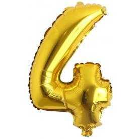 4 rakam balon altın