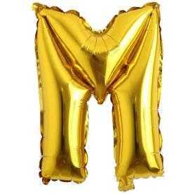 m harf balon altın