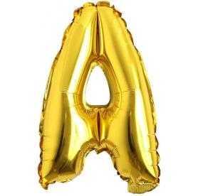 a rakam balon altın