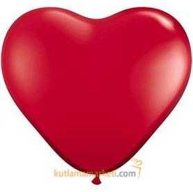 Kalipli Kırmızı Balon 10 Adet